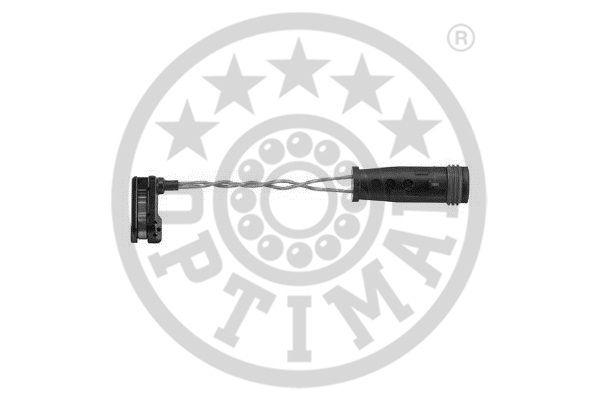 Contact d'avertissement, usure des garnitures de frein - OPTIMAL - WKT-50607K
