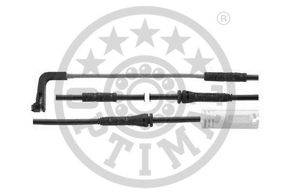 Contact d'avertissement, usure des garnitures de frein - OPTIMAL - WKT-50641K