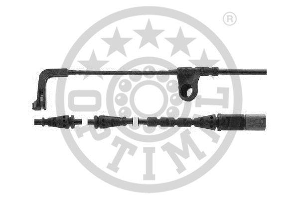 Contact d'avertissement, usure des garnitures de frein - OPTIMAL - WKT-50642K