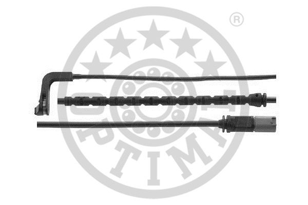 Contact d'avertissement, usure des garnitures de frein - OPTIMAL - WKT-50643K