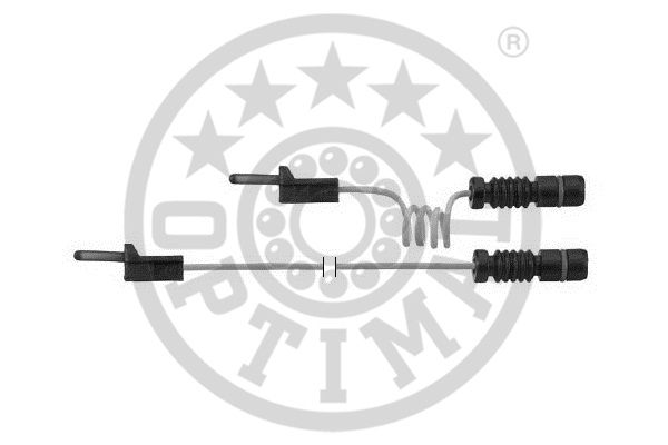 Contact d'avertissement, usure des garnitures de frein - OPTIMAL - WKT-55357K