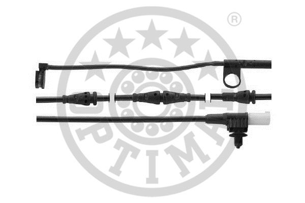 Contact d'avertissement, usure des garnitures de frein - OPTIMAL - WKT-59005K
