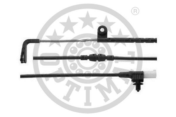 Contact d'avertissement, usure des garnitures de frein - OPTIMAL - WKT-59008K