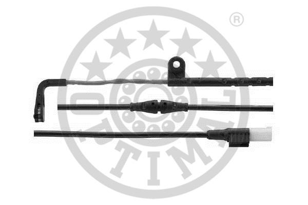 Contact d'avertissement, usure des garnitures de frein - OPTIMAL - WKT-59013K