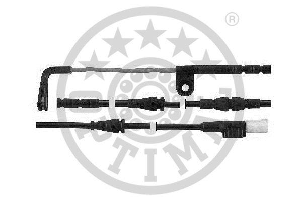 Contact d'avertissement, usure des garnitures de frein - OPTIMAL - WKT-59018K
