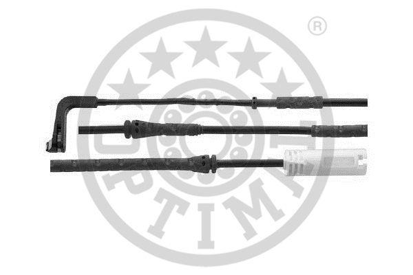 Contact d'avertissement, usure des garnitures de frein - OPTIMAL - WKT-59066K