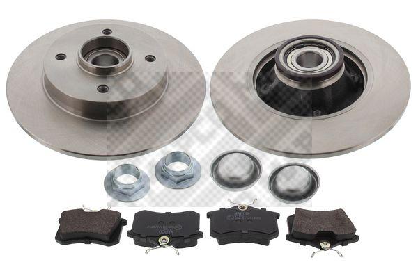 kit de freins frein disques peugeot 308 1 6 112cv 2009 amapiece. Black Bedroom Furniture Sets. Home Design Ideas