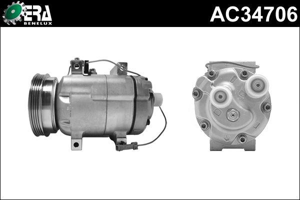 Compresseur, climatisation - ERA-amApiece - 22-AC34706