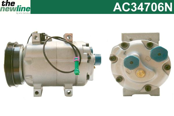 Compresseur, climatisation - ERA Benelux - AC34706N