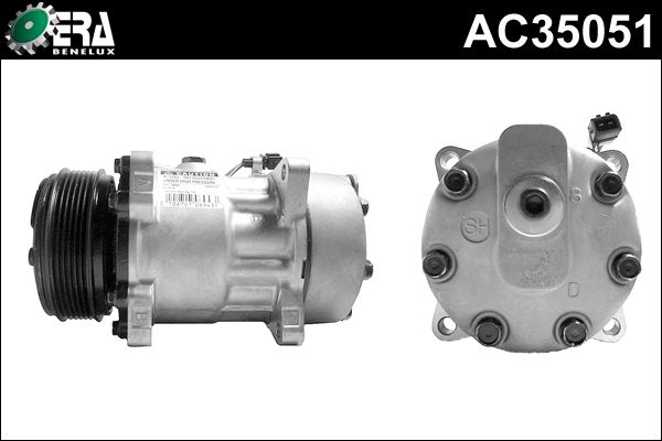 Compresseur, climatisation - ERA Benelux - AC35051
