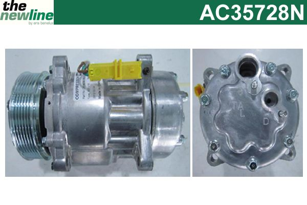 Compresseur, climatisation - ERA Benelux - AC35728N