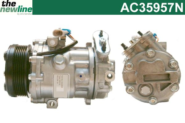 Compresseur, climatisation - ERA Benelux - AC35957N