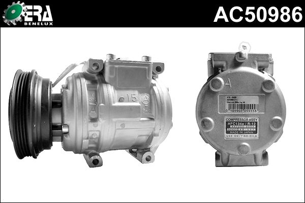 Compresseur, climatisation - ERA Benelux - AC50986