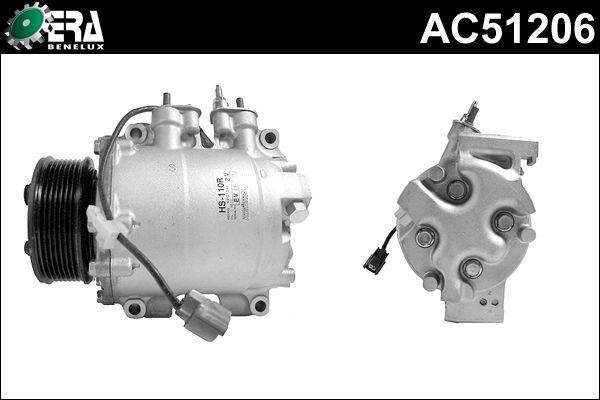 Compresseur, climatisation - ERA Benelux - AC51206