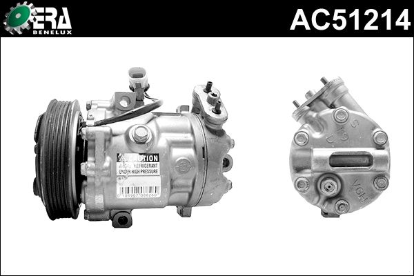Compresseur, climatisation - ERA Benelux - AC51214