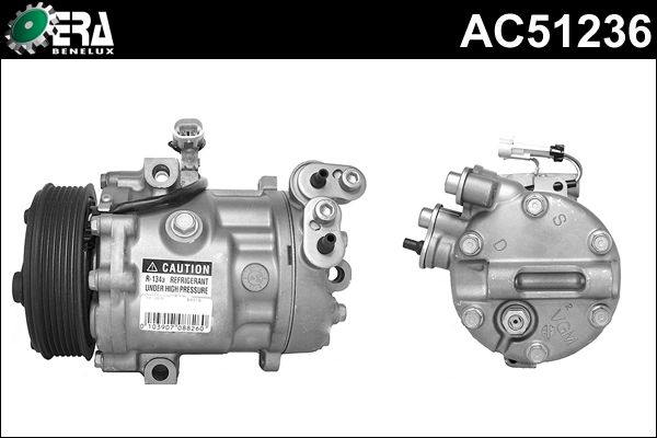 Compresseur, climatisation - ERA Benelux - AC51236