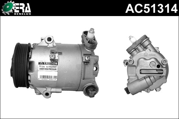 Compresseur, climatisation - ERA Benelux - AC51314