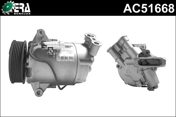 Compresseur, climatisation - ERA Benelux - AC51668