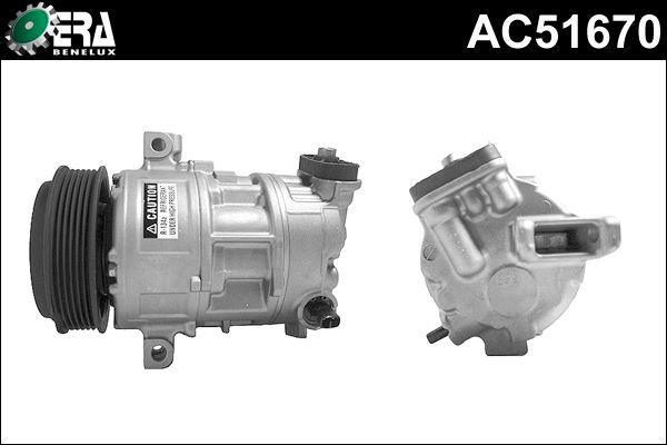Compresseur, climatisation - ERA Benelux - AC51670