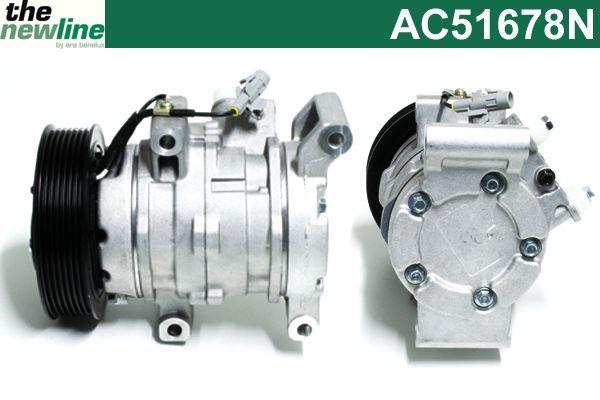 Compresseur, climatisation - ERA Benelux - AC51678N