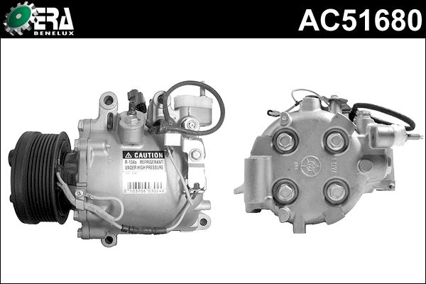 Compresseur, climatisation - ERA Benelux - AC51680