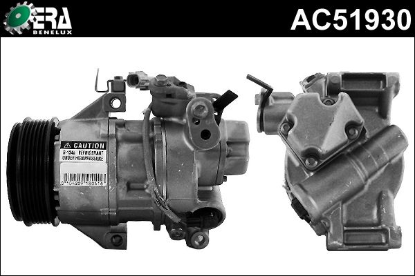 Compresseur, climatisation - ERA Benelux - AC51930