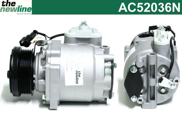 Compresseur, climatisation - ERA Benelux - AC52036N