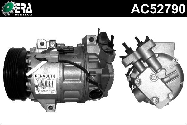 Compresseur, climatisation - ERA Benelux - AC52790