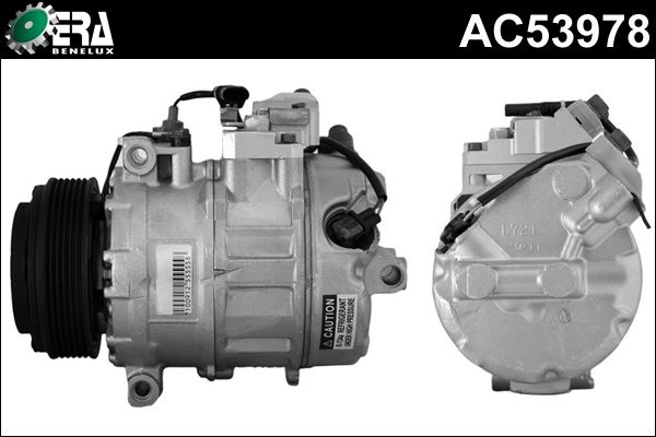 Compresseur, climatisation - ERA Benelux - AC53978
