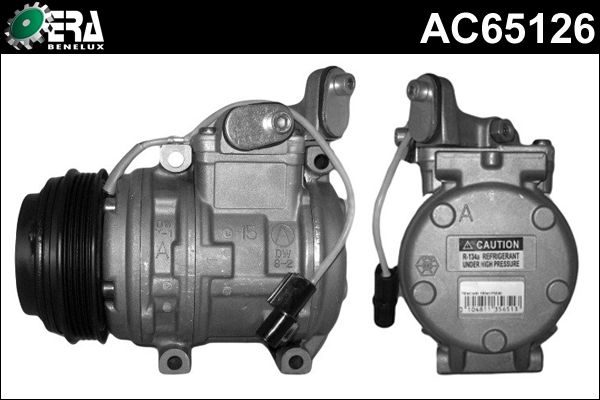 Compresseur, climatisation - ERA Benelux - AC65126