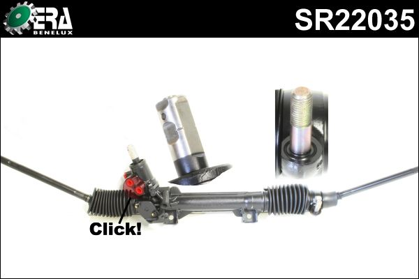 Boitier de direction - ERA Benelux - SR22035