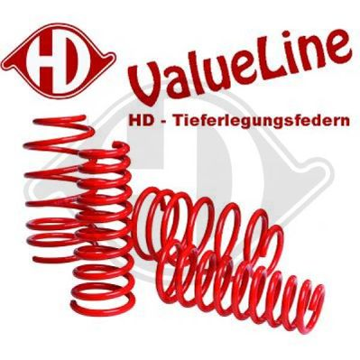 Jeu de suspensions, ressorts - HDK-Germany - 77HDK99951146