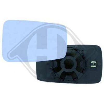 Verre de rétroviseur, rétroviseur extérieur - HDK-Germany - 77HDK1014027