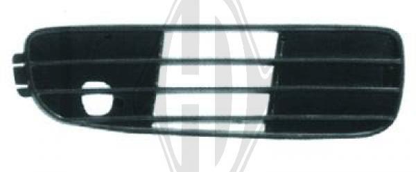 Grille de ventilation, pare-chocs - Diederichs Germany - 1015048