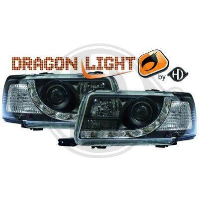 Bloc-optique, projecteurs principaux - HDK-Germany - 77HDK1015385