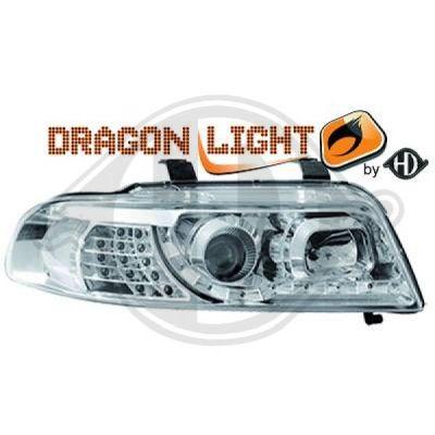 Bloc-optique, projecteurs principaux - HDK-Germany - 77HDK1016685