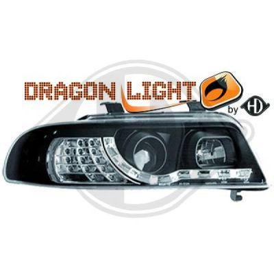 Bloc-optique, projecteurs principaux - HDK-Germany - 77HDK1016785