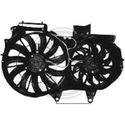 Ventilateur, refroidissement du moteur - Diederichs Germany - 1017101
