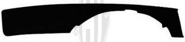 Grille de ventilation, pare-chocs - HDK-Germany - 77HDK1017145