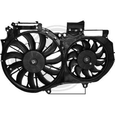 Ventilateur, refroidissement du moteur - HDK-Germany - 77HDK1017201