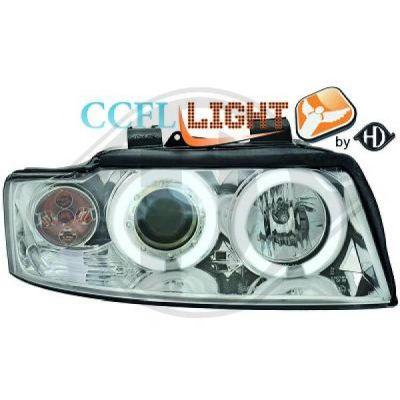 Bloc-optique, projecteurs principaux - HDK-Germany - 77HDK1017481