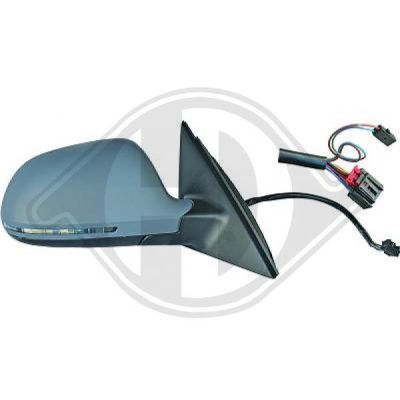 Revêtement, rétroviseur extérieur - HDK-Germany - 77HDK1018427