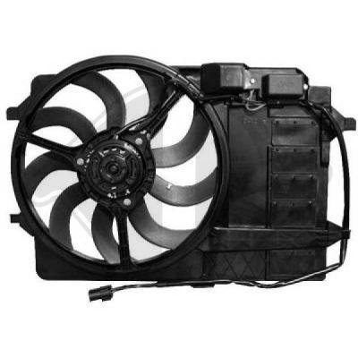 Ventilateur, refroidissement du moteur - HDK-Germany - 77HDK1205201