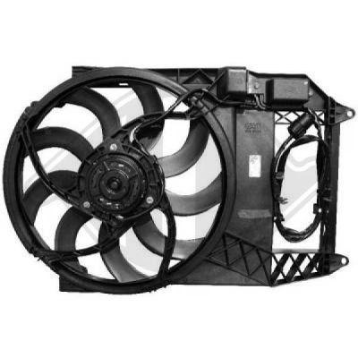 Ventilateur, refroidissement du moteur - HDK-Germany - 77HDK1205301