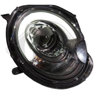 Bloc-optique, projecteurs principaux - HDK-Germany - 77HDK1206585