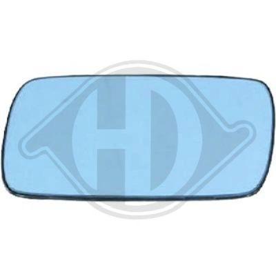 Verre de rétroviseur, rétroviseur extérieur - HDK-Germany - 77HDK1211027