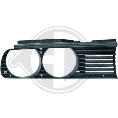 Grille de radiateur - HDK-Germany - 77HDK1211044