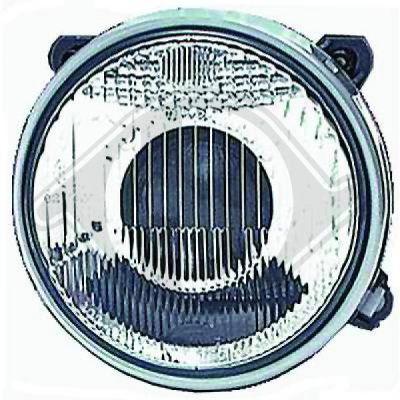 Bloc-optique, projecteur longue portée - Diederichs Germany - 1211183