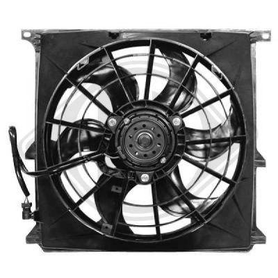 Ventilateur, condenseur de climatisation - HDK-Germany - 77HDK1213101