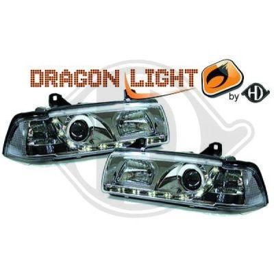 Bloc-optique, projecteurs principaux - HDK-Germany - 77HDK1213485